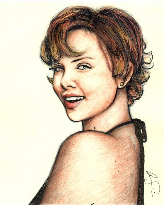Charlize Theron par jonji